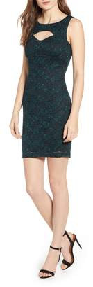 Love, Nickie Lew Lace Body-Con Dress
