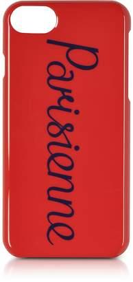 MAISON KITSUNÉ Parisien Red Iphone 7 Case