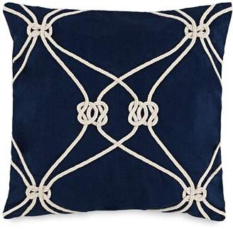 Southern Tide Royal Pine Rope Knot Decorative Pillow