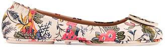 Minnie Travel Ballet Flat, Printed Leather