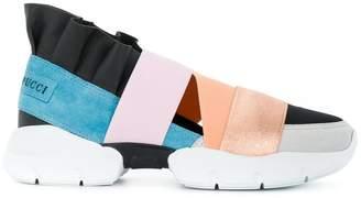 Emilio Pucci multi-strap sneakers