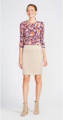 J.Mclaughlin Portia Pencil Skirt in Faux Suede