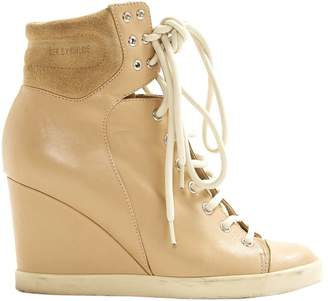 See by Chloe Leather trainers