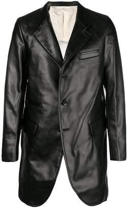 Comme des Garcons cut-away panel coat
