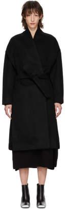 Totême Black Chelsea Coat