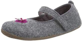 Living Kitzbühel Women's Ballerina Herz & Glitzerstein Unlined low house shoes,6 UK