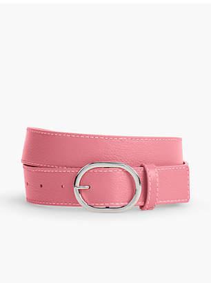 Talbots Pebble Leather Belt