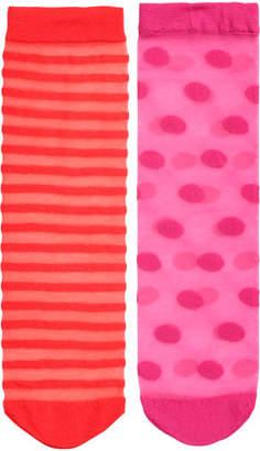 H&M 2-pack Socks 20 Denier - Red