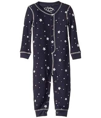 PJ Salvage Kids Dream Mix Star Thermal Romper (Infant)