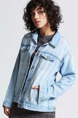 Forever 21 Premium Washed Denim Jacket