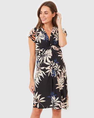 Lana Knot Front Dress