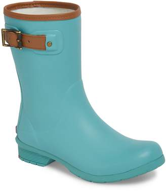 Chooka City Solid Mid Height Waterproof Rain Boot