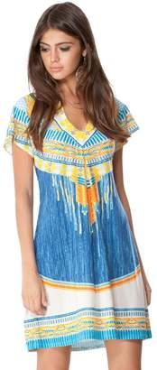 Hale Bob Eva Pleated Jersey Dress