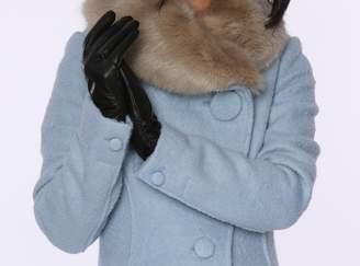 Moda Womens Ms Pocono Genuine Leather Gloves w Touch Screen Fnctn