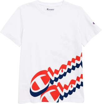 Champion Wraparound Script T-Shirt