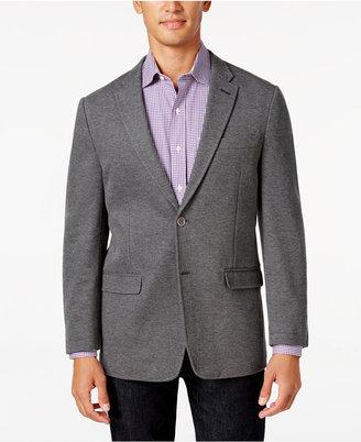 Tommy Hilfiger Men's Slim-Fit Gray Knit Soft Sport Coat $295 thestylecure.com