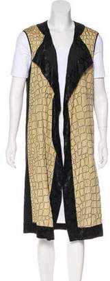 Dries Van Noten Silk-Blend Vest