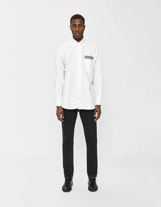 Gitman Brothers GV x Magnafied Patch Oversized Oxford Shirt