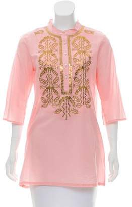 Figue Jasmine Embellished Tunic w/ Tags