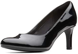Clarks Dancer Nolin Court Shoe - Black