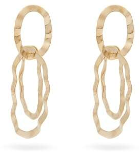 Isabel Marant Pith Hammered Hoop Earrings - Womens - Gold