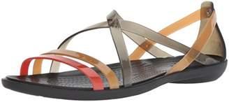 Crocs Women's Drew Barrymore Isabella Strappy Sandal Flat