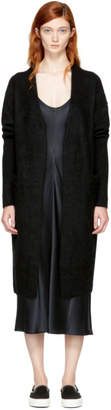 Acne Studios Black Long Raya Cardigan