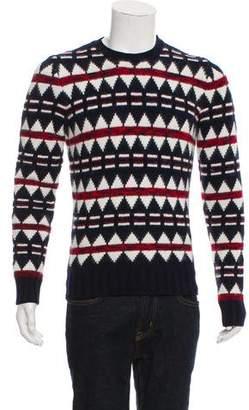 DSQUARED2 Angora-Blend Argyle Sweater
