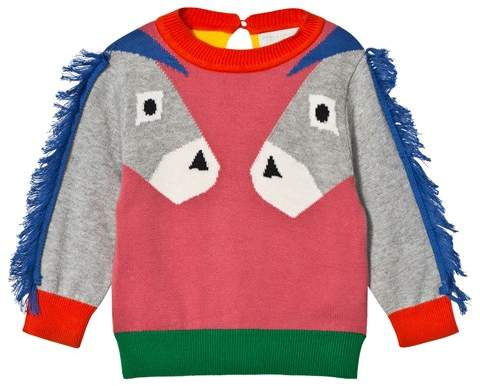 Pink Donkey Knit Lucky Jumper