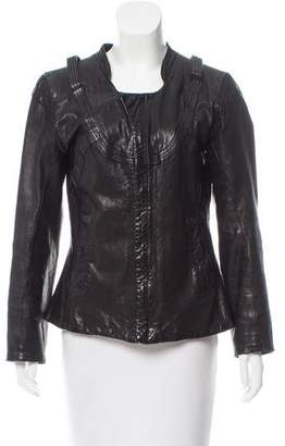 Diesel Lightweight Leather Jacket
