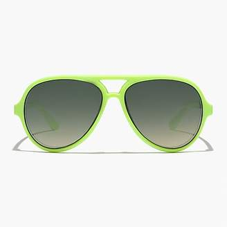 J.Crew Kids' neon aviator sunglasses
