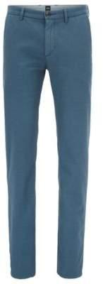 BOSS Hugo Cotton Chino Pant, Slim Fit Rogan D 34R Silver