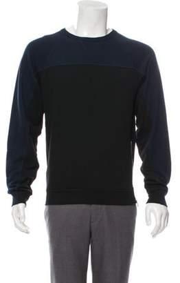 Dries Van Noten Zip-Accented Contrast Sweater black Zip-Accented Contrast Sweater