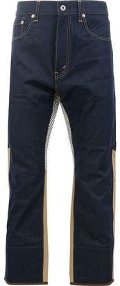 Junya Watanabe patched jeans