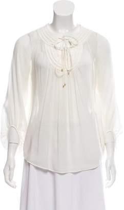 Diane von Furstenberg Long Sleeve Tunic Top