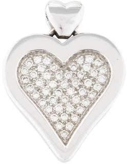 18K Diamond Heart Pendant