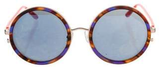 Matthew Williamson Round Tinted Sunglasses