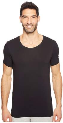 Hanro Cotton Superior Short Sleeve Crew Neck Shirt Men's T Shirt