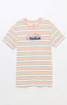 PacSun null Pink Panther Striped T-Shirt