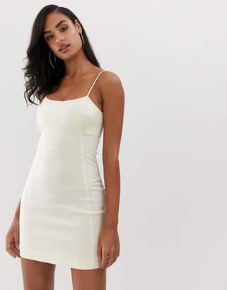 Bec & Bridge zebre mini dress