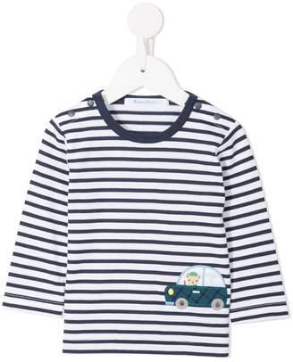 Familiar Car striped T-shirt