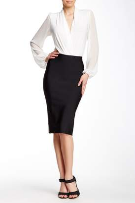 Gracia Bodycon Midi Pencil Skirt