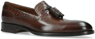 Fratelli Rossetti Crocodile Effect Loafers