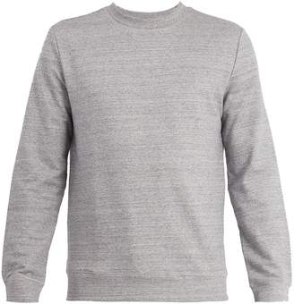 A.P.C. Crew-neck cotton-blend jersey sweatshirt