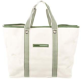 Lacoste Beige Beach Bag w/ Tags