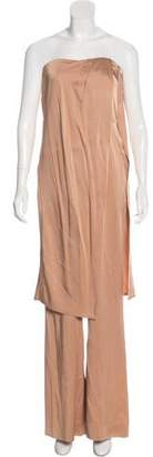 Rachel Zoe Strapless Wide-Leg Jumpsuit w/ Tags