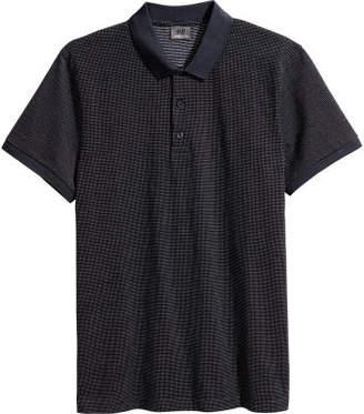 H&M Premium Cotton Polo Shirt - Blue