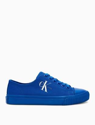 93fb632d8a9 Calvin Klein ireland monogram logo canvas sneaker