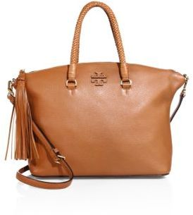 Tory Burch Taylor Leather Satchel $495 thestylecure.com