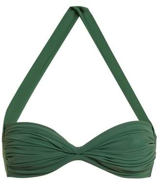 Norma Kamali Bill Bra Bikini Top - Womens - Green
